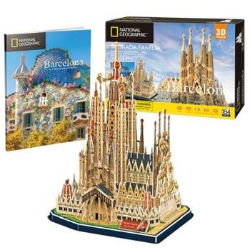Sagrda Familia de Barcelona, puzzle 3D.