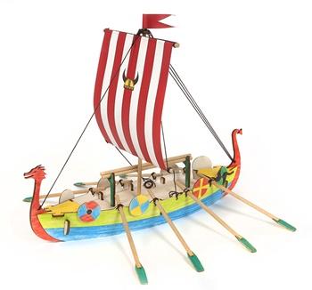 Viking Junior, kit de madera para montar.