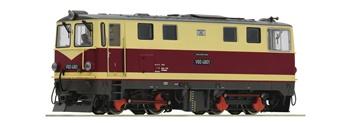Locomotora diesel de la clase V 60 K de la Deutsche Reichsbahn.