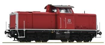 Locomotora diesel de la clase 212 de Deutsche Bahn AG