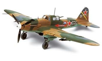 Ilushin IL-2 SHTURMOVIK, escala 1/48.