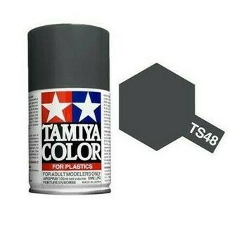 Pintura spray color GUNSHIP GREY.