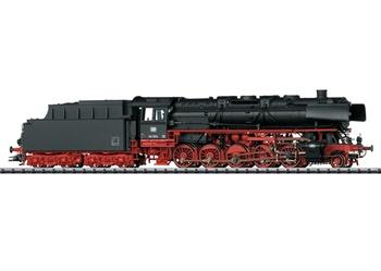 Locomotora de vapor BR44 DB, época III.