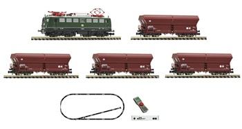 Set de iniciación digital z21 start con una locomotora eléctrica serie