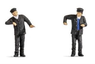 Conductores de locomotora de vapor.