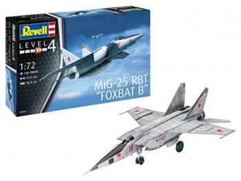 MiG-25 RBT FOXBAT B. Kit de plástico escala 1/72.