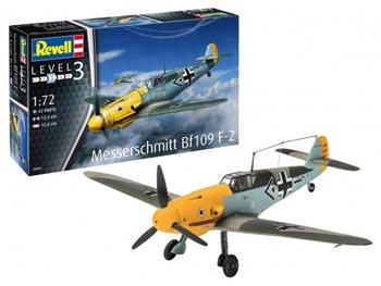 Messerschmitt Bf109 F-2. Kit escala 1/72.