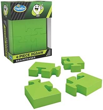 4 Piece Jigsaw Brainteaser.