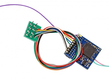 LokPilot 5Fx DCC/MM/SX 8 pins NEM652.