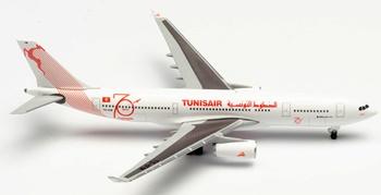 Tunisair Airbus A330-200 TS-IFM Tunis.