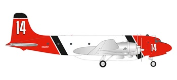Aero Union Douglas C-54 Skymaster Air Tanker.