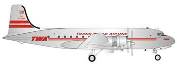 TWA Trans World Airlines Douglas DC-4.