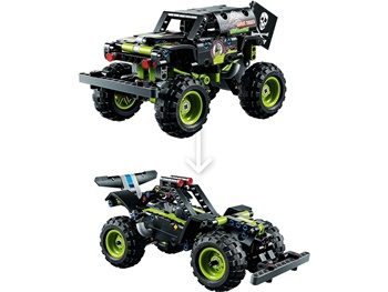 LEGO TECHNIC: Monster Jam Grave Digger.