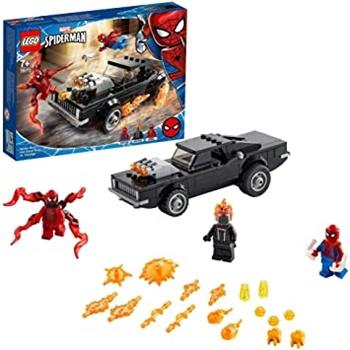 MARVEL: Spiderman y el motorista fantasma.
