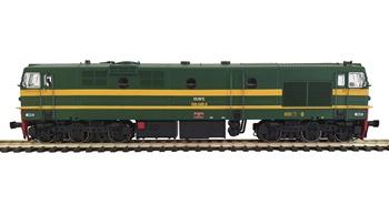 Locomotora diesel RENFE 319-095-6, época IV.