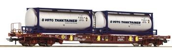 Vagón T3 AAE Sdgmns 33 de la sociedad Ahaus-Alstätter Eisenbahn AG.