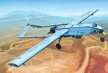 U.S. ARMY RQ-7B UAV, kit plástico escala 1/35.
