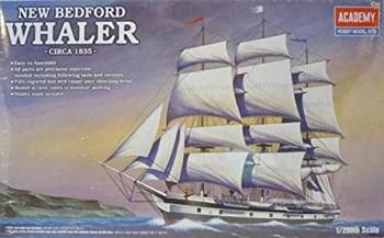 New Bedford Whaler Circa 1835, kit plástico escala 1/200.