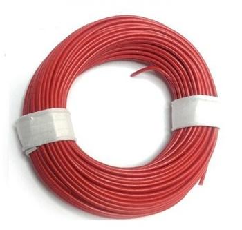 Cable superfino color rojo