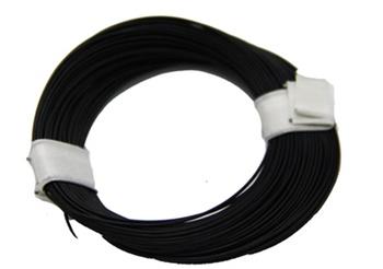 Cable superfino color negro