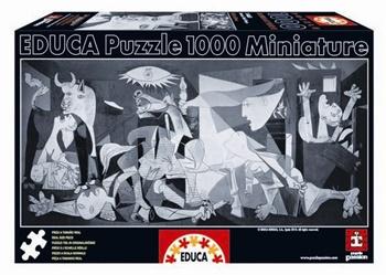 Guernica PICASSO, puzzle de 1000 piezas mini.
