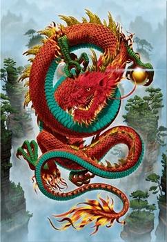El dragón de l abuena fortuna, 500 piezas.