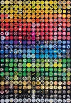 Collage de chapas. Puzzle de 1000 piezas. Medida: 48x68cm.