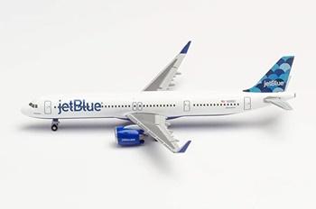 JetBlue Airways Airbus A321neo Ballons.