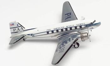 Pan American World Airways Douglas DC-3. Escala 1/200.
