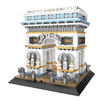 Arco del triunfo, 1188 piezas.