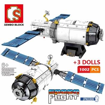 Plataforma espacial, 1002 piezas