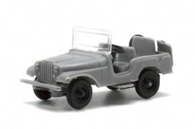 Jeep Willys. Disponible en varios colores.