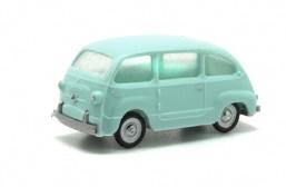 Fiat 600 multipla. Disponible en varios colores.