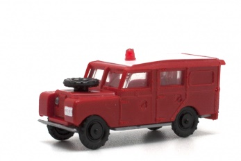 Land Rover largo de Bomberos.