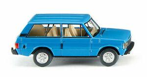 Range Rover color azul.