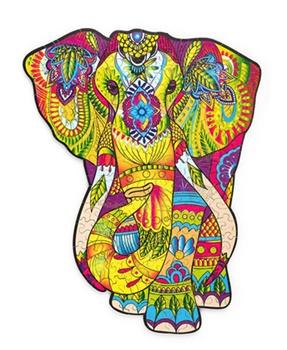 Elefante, puzzle de 193 piezas.