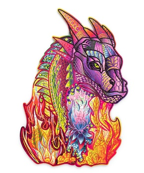 El dragón, puzzle de 184 piezas.