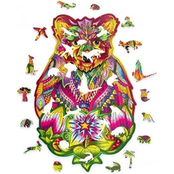 El oso, puzzle de 184 piezas.