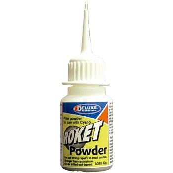 Polvo de refuerzo para usar con adhesivos de ciano