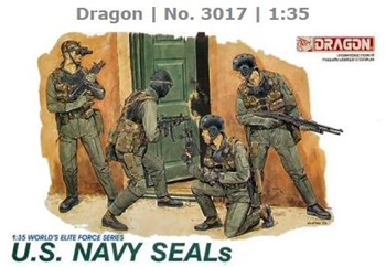 U.S. Navy Seals, escala 1/35.