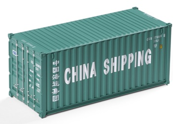 Contenedor CHINA SHIPPING.