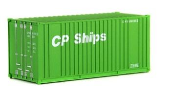 Contenedor CP Ships.