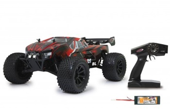 Brecter Truggy BL 4WD, escala 1/10, 2.4GHz con LED.