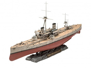 HMS Dreadnought. Kit de plástico escala 1/350