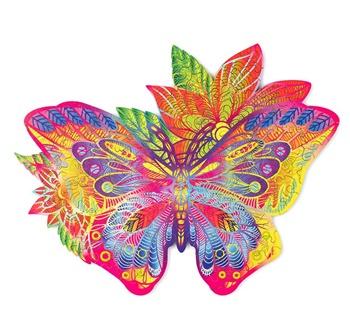 Mariposa, 170 piezas.