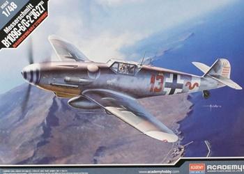 Messerschmitt Bf109G-6/G2 JG27, escala 1/48.