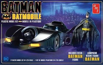 Batman Batmobil, kit plástico escala 1/25.