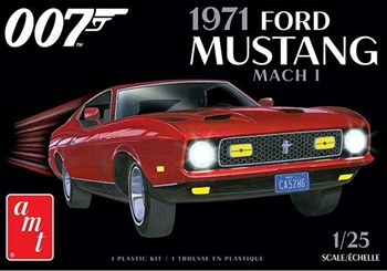 1971 Ford Mustang mach I. Kit plástico escala 14/255.