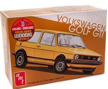 1978 Volkswagen Golf GTI, escala 1/24.
