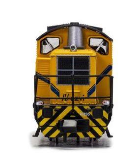 Locomotora maniobras Diesel RENFE AZVI, época V. Digital.
